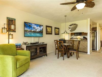 Photo for Beautifully remodeled 1bd Ocean View condo at the Maui Kamaole H-106