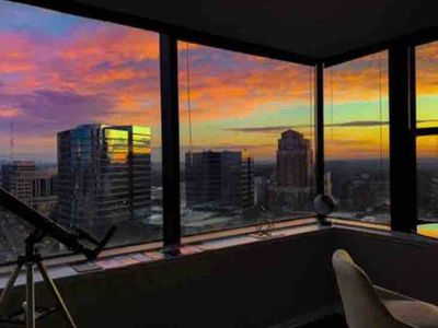 Photo for Ready Sunset Go! Views+HugeTV. Modern, Midtown.