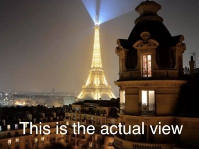 Photo for Best balcony over Eiffel Tower