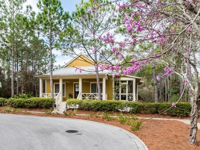 Photo for Golf Cart! Lots of privacy & on a quiet street! Bike to Dining & Beach!