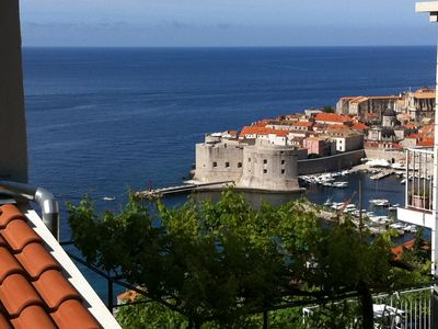 Photo for Studio Apartment Klara  Breathtaking view to the sea and Old Town!
