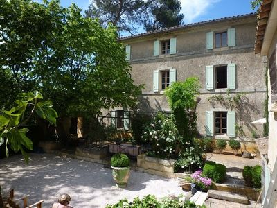 Photo for Old renovated country house at the foot of the village of Bonnieux
