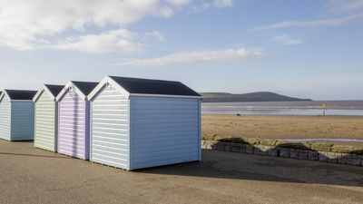 Beach Huts at Weston Super Mare