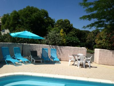 Photo for Lovely apartment  with communal pool in Beziers, Languedoc-Roussillon, France for 2 persons