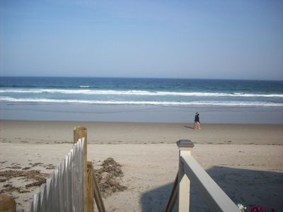 Photo for Moody Beach--Two-story oceanfront home with deck overlooking private beach