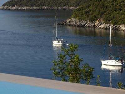 Photo for Villa Kalamos - Modern Villa in Sivota Bay with Direct Access to Sea