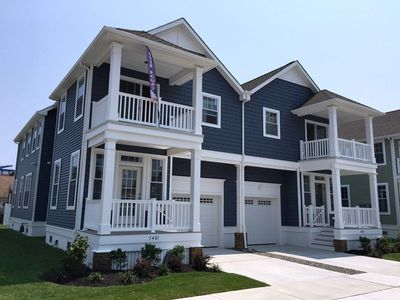 Photo for Pet Friendly! Close To Beach And Boardwalk, 4 Bedrooms 3 Baths