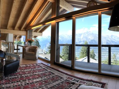 Photo for Chalet Le Grand Hibou - 700m skilift