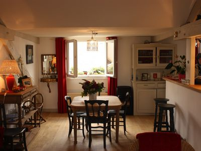 Photo for charming apartment 19th building in the historic city center.