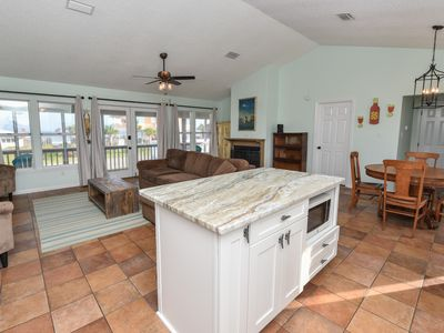 Photo for Book 3, 1 Free! Beautifully Updated w/Fenced Yard Across the Street from Beach!