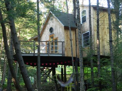 Photo for Lily's Brookside Tree House / Skiers Welcome