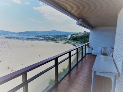 Photo for Hondarribia overlooking the sea