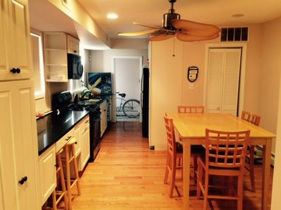Photo for 2 Bedroom, 1 1/2 Bath Home conveniently located right off boardwalk! Sleeps 8-10