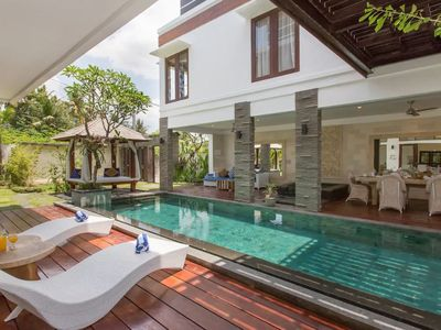 Photo for Canggu Villa 3BR Luxury Corner Club 5 Min to Beach