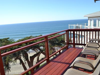 Photo for Ocean front home with direct beach access!