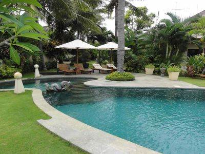 Photo for Villa Bahagia, Lovina beach villa with private pool at - up to 10 people