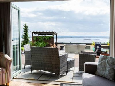 Photo for A stunning two bed holiday home overlooking the River Severn Estuary… The Retreat is just outside