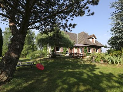 Photo for Between Wine Route & Morvan,spacious cottage with pool ideal for family & friend