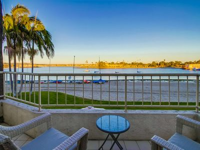 Photo for ☀️The Jamaica- Waterfront! ❄️Upgraded w/ AC, Garage Parking, Spacious Master!