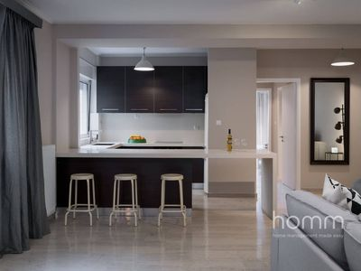 Photo for 121m² homm Renovated Apartment in Athens Riviera