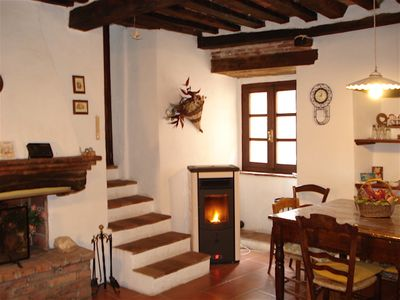 Photo for APARTMENT IN A TRADITIONAL TUSCAN HOUSE OF CHARACTER CLOSE TO SEA & TOWNS OF ART