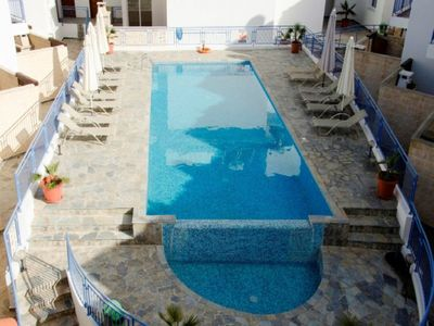 Photo for 3 Bedroom Townhouse - Stunning Sea Views - Heated Jacuzzi - Communal Pool