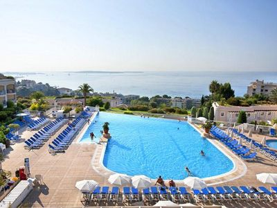 Photo for CANNES - Villa Francia - Appart 2 rooms - Beautiful sea view and pool view