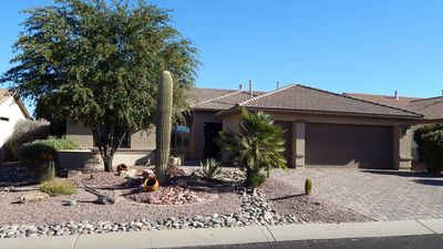 Photo for Play in a 55+ Community, Private pool, mountain and golf course views.