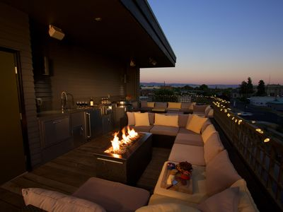 Photo for Luxury Town Home with Amazing Rooftop Gathering Area