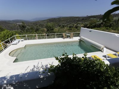 Photo for Stylish accommodation with stunning views, private pool, vineyard