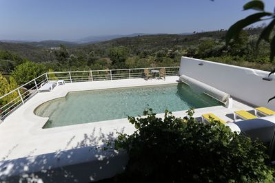 your private pool with stunning views
