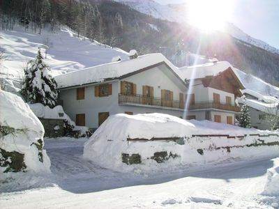 Photo for Apartment for 4-5 persons in the Italian Alps- Valle d'Aosta