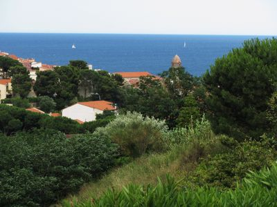 Photo for Beautiful T3 Collioure sea view close to beach and town center