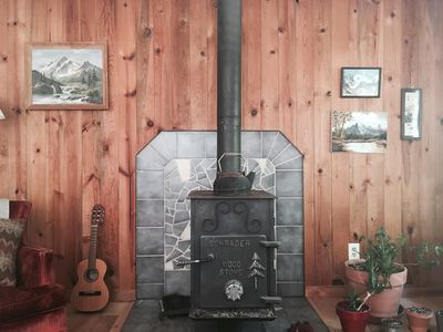 Photo for Hear the River from Cozy Mt Hood Cabin W/ Woodstove & Dogs Ok!