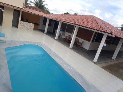 Photo for Beach house 1km from Hibiscus in Maceió Ipioca, house in a gated community.