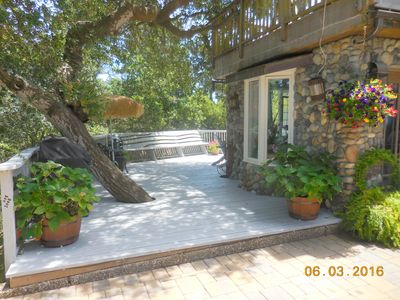 Photo for Moonglow: Forest tranquility minutes from downtown Carmel. Private hot tub.