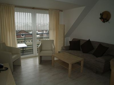 Photo for spacious apartment, quiet central location, 5 minutes walk to beach