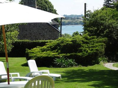 Photo for 5min Dinard 'EDEN COVE' charming renovated 18th stone Cottage Beach Garden