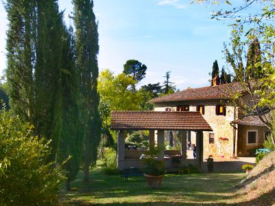 Photo for Large, Traditional Tuscan Villa With Private Swimming Pool And Panoramic Views