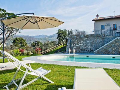 Photo for Agri-tourism Giugnano Poggio del Sole, Lamporecchio  in Um Florenz - 6 persons, 2 bedrooms
