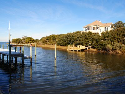 Photo for One of 7 homes on Brooks Island - Unobstructed Sunrise & Sunset views, H20 acces