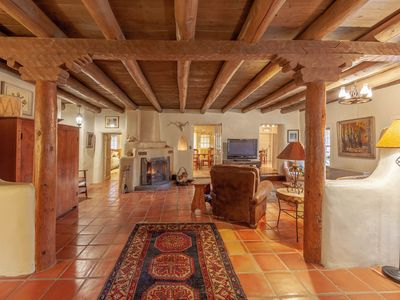 Photo for Historic charm of old Taos with modern amenities. Very best location!