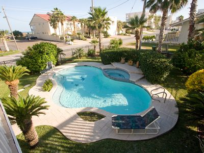 Photo for BEACH HOUSE  - PRIVATE POOL/JACUZZI!!