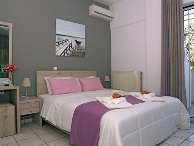 Photo for Sunset Apartment ΙΙ (50meters from the beach)