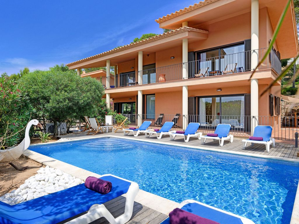 LOS PINOS  House With Swimming Pool Tamariu Costa Brava. Palafrugell House  Rental