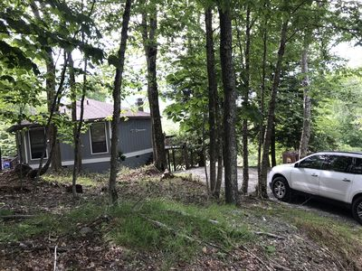 Photo for Cozy Chalet directly Across Street from Ski Slopes!!!  Hiking, Biking, Fishing