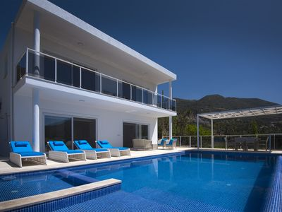 Photo for Villa Rudi is a 2 Bedroom Private Luxury Villa With Pool and Seaview