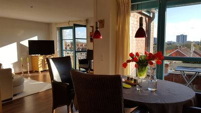 Photo for Feel-good duplex apartment with underground parking & elevator & south-facing balcony a. d. Baltic Sea