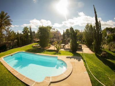 Photo for Charming villa with pool and garden – Villa Ca'n Bonica