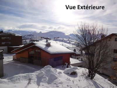 Photo for South Apartment 3 rooms - near slopes and shops - Tower arrival France